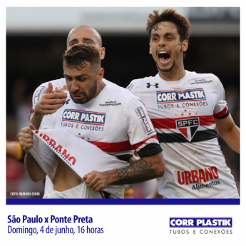 São Paulo x Ponte Preta