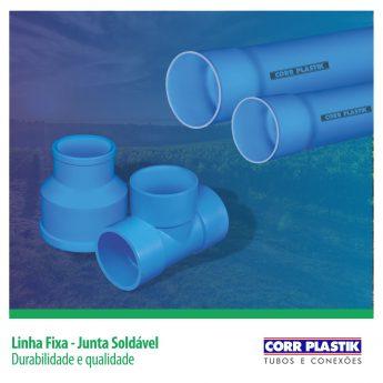 Linha Fixa - Junta Soldável - Durabilidade e Qualidade