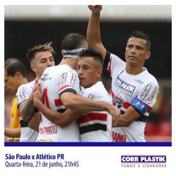 SPFC x Atlético PR
