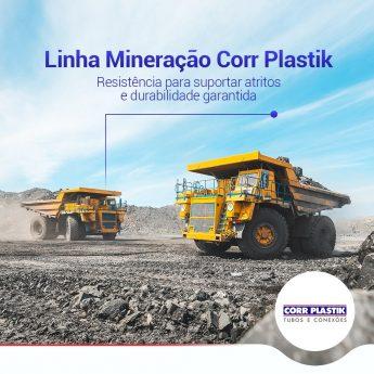 linha mineração Corr Plastik